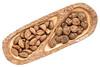 Brazilian nuts and black walnuts