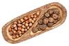 hazelnuts and black walnuts