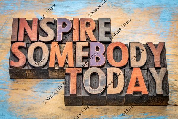 inspire somebody today