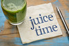 juice time concept