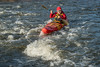 paddling whitewater kayak