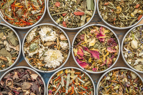 herbal blend tea collection