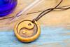 aromatherapy yin and yand pendant