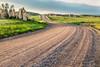 rural road in Colorado prairie