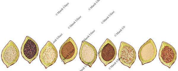 gluten free grains - bowl set