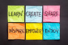 learn, create, share, and inspire