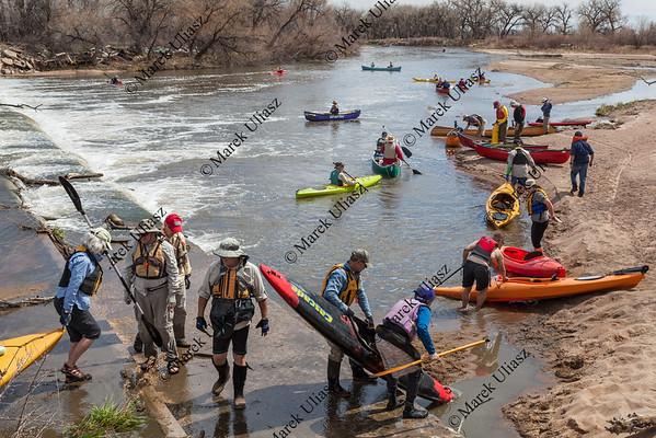 kayak and canoe portaging