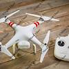 DJI Phantom quadcopter drone