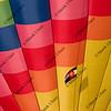hot air balloon with Colorado flag