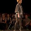 fashion model on a catwalk