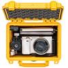 Digital camera in wateroof case