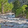 Springtime whitewater kayaking