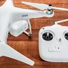 Phantom quadcopter drone with radio copntroller