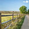 Morning walk ob Poudre  River Trail