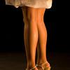 woman legs on a catwalk