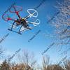 haexacopter drone flying