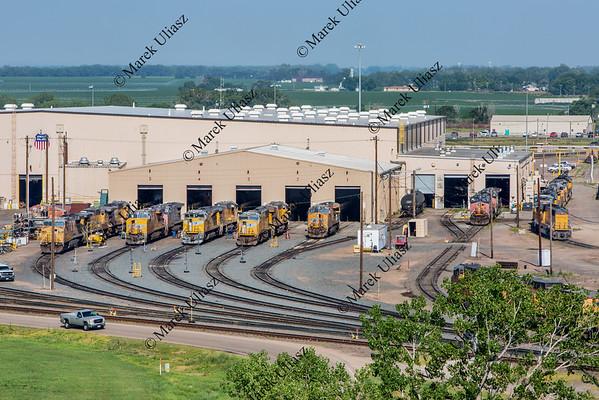 Union Pacific Bailey rail yard