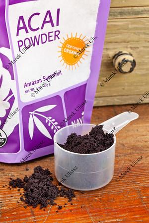 dried acai berry powder
