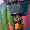 hot air balloon rising at Greeley festival