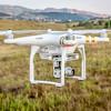 Phantom drone flying with camera