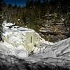 Blackwater Falls frozen