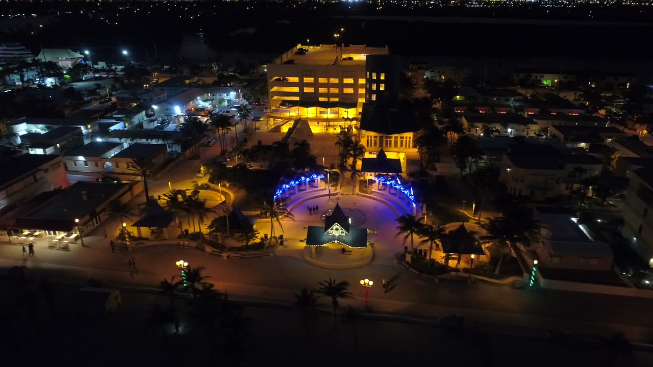 January Hollywood Beach Florida