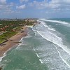 Aerial footage The Breakers Resort Palm Beach Florida