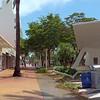 Lincoln Road Mall closed after hurricane irma Miami Beach