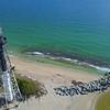 Still static aerial video Hillsboro Lighthouse Pompano FL USA
