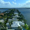 Everglades Island Palm Beach Florida luxury homes aerial 4k 60p