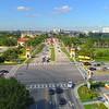 Aerial Florida International University 4k 24p