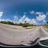 360vr motion footage driving Bal Harbour Bridge to Haulover Miami