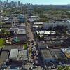 Art Basel Miami Wynwood aerial video drone 4k