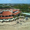 Aerial footage Mar A Lago tennis courts Palm Beach Florida tourism