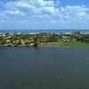 Aerial drone footage Mar A Lago Palm Beach Florida 4k