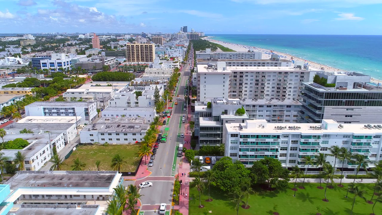 Miami Beach condominium buildings