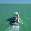 Aerial video Garvin Research Vessel Miami Dade Florida