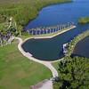 Deering Estate lawn Miami aerial footage