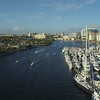 Aerial rising ascent shot Fort Lauderdale FL 4k