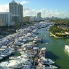 Luxury yachts Miami Beach boat show 2018 helicopter tour