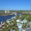 Aerial video Hillsboro Florida 4k