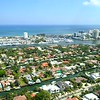 Drone footage Riviera Isles Fort Lauderdale Florida flyover