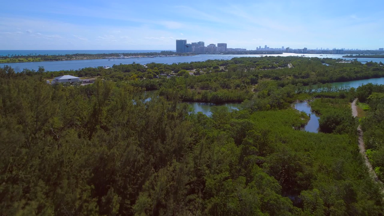 Miami Beach hyperlapse 4k