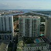 Aerial footage Harbour Island Tampa FL USA 4k 60p