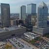 Aerial drone Suntrust PNC Bank America Regions Tampa FL