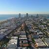 Aerial Miami Beach city tour December 2017 scenic