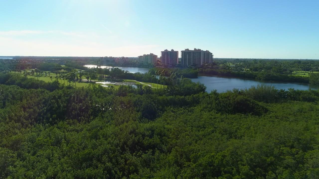 Aerial video Deering Bay Golf Course