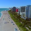 Aerial footage Miami Beach Faena District