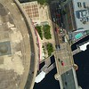 Aerial over Sykes Tower Kennedy Boulevard reveal Bank of America Tampa FL