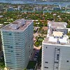 Aerial video of a building in Bal Harbour FL